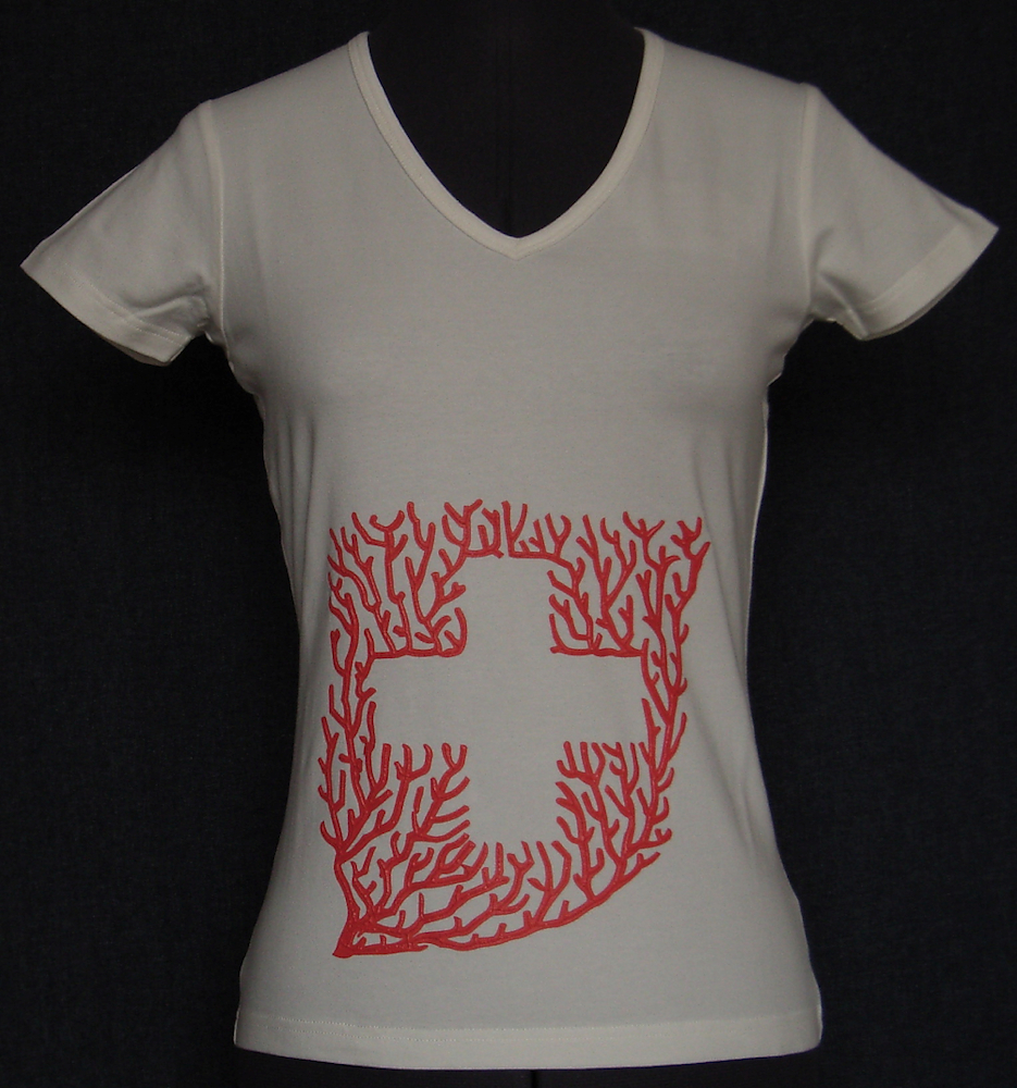 Swiss Coral T-Shirt 1